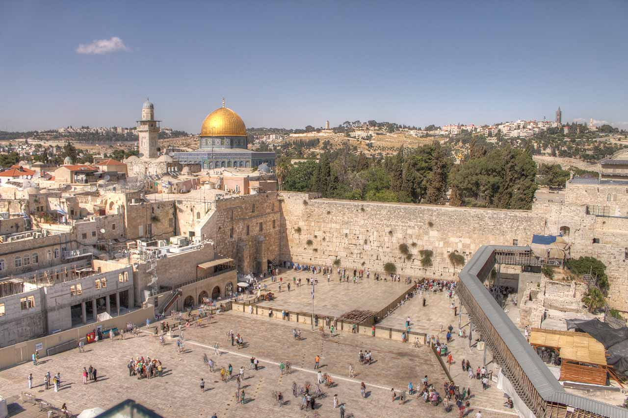 Aerial-View-Western-Wall