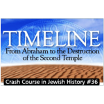 History Crash Course #36: Timeline – From Abraham to Destruction of the Temple