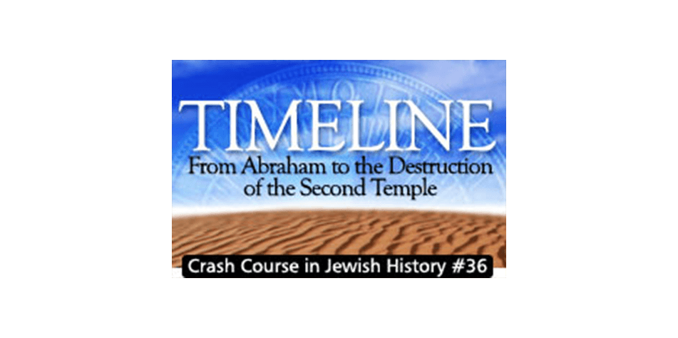 history crash course 36 timeline from abraham to destruction of