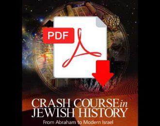 Crash Course in Jewish History – eBook